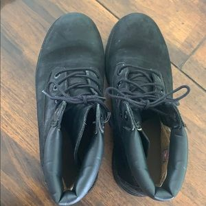 Timberland Boots- Black, size 8.5